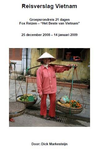 Voorblad reisverslag Vietnam